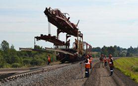Более 200 км железнодорожного полотна отремонтировано в Смоленской области