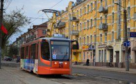 Трамваи вернулись на улицу Николаева в Смоленске