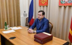 Губернатор принял участие в заседании рабочей группы Госсовета по COVID–19