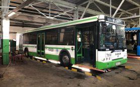 В Смоленск начали поступать московские автобусы