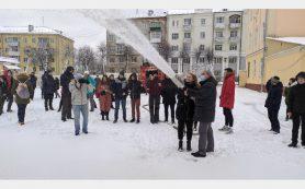 В Смоленске прошел практический урок для юных спасателей