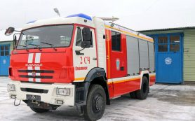 Людей эвакуировали. В Смоленске пожарные примчались к поликлинике