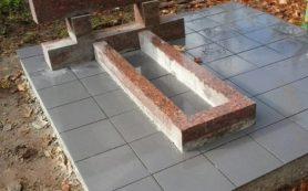 Плитка на могилу из натурального камня — какую выбрать