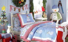 Идеи для новогоднего или рождественского оформления детской