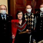 Смоленская транспортная полиция приняла участие во Всероссийской акции «8 Марта – в каждый дом»