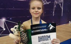 7-летняя смолянка стала лучшей на Кубке России и стран СНГ по воздушно-силовой атлетике