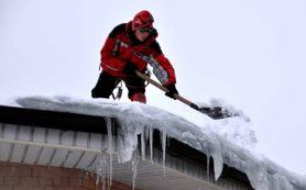 Способы очистки крыш от снега и льда