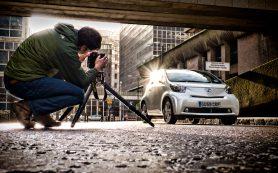 Как фотографировать машины?