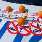 Смоленские дорожные полицейские раздавали водителям «Витамины трезвости»