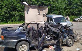 В страшном ДТП в Кардымовском районе пострадал водитель