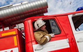 На хлопчатобумажном комбинате в Ярцево вспыхнул пожар