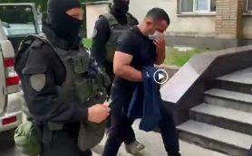 Появилось видео задержания чиновника в Смоленске