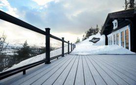 Уход за террасой зимой — как правильно осуществить?