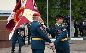 Отряду спецназа «Меркурий» вручили Боевое знамя