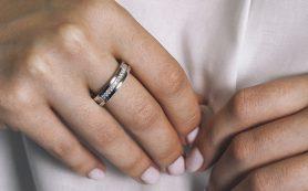 Кольцо бриллиантовая дорожка от Северной бриллиантовой компании