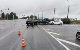 На трассе М-1 в Смоленском районе произошло тройное ДТП