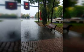 В Смоленске благоустройство сквера имени Клименко вышло на финальную стадию